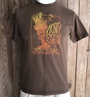 Monty Python and the Holy Grail Men's Large Tshirt Brown Short Sleeve Cotton