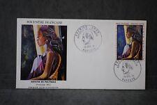 Polynésie française Enveloppe 1er  jour PA 1971 Artistes en Polynésie
