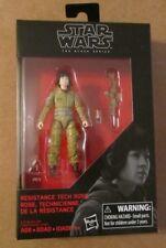 Star Wars The Black Series RESISTANCE TECH ROSE ~ 3.75 Inch Figure