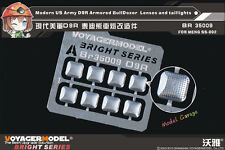 1/35 Voyager BR35009 U.S. D9R Armored BullDozer Lenses and taillights (For MENG)