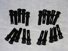 LEGO Technic - 20x Pin lang +Achs-/Kreuzloch 1x3 32054 schwarz Verbinder Stopper
