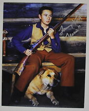 """Tommy Kirk Signed Old Yeller 8x10 Photo inscribed """"Travis"""" Autograph"""