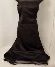Erica Michelle Ltd. Womens Plus Black Evening Prom Strapless Dress Size 24W