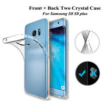For Samsung Galaxy New 360° Front & Back Full Body Soft Silicone TPU Case Cover