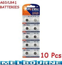 10 Pcs AG3 1.5v LR41 AG-3 L736 392 SR41 192 35mAh Alkaline Button Coins Battery