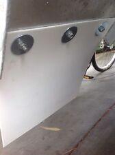 2x  RALLY CAR PVC mudflap MUD FLAPS MUFLAPS TRAILERS Ute Caravan Boat