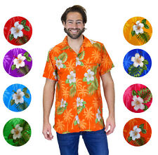 Funky Hawaiian Shirt Small Flower Different Colours Different Sizes