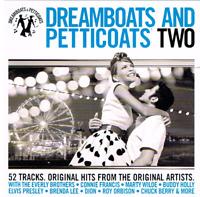 Dreamboats And Petticoats Two - 52 Original Hits & Artists - 2CDs