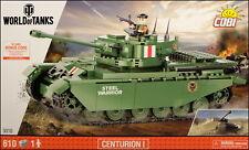 COBI Centurion I - World of Tanks (3010) - 610 elem. - UK main battle tank