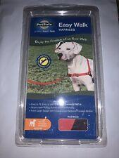 PetSafe Easy Walk Dog Harness-- Medium--Red/Black--NIB--US SELLER