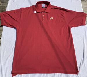 WASHINGTON REDSKINS Polo Golf Collared Shirt by REEBOK Size Men's XL BRAND NEW!!