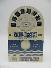 View-Master Reel 656, Buenos Aires, Argentina I, Single Reel