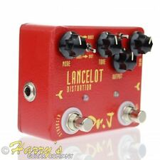 Dr. J D59 LANCELOT DISTORTION Mosfet / Diode Clipping 15dB Boost Guitar FX Pedal