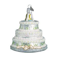 Old World Christmas Wedding Cake (32017)X Glass Ornament w/ Owc Box