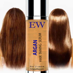 Argan Hair Oil Serum with Aloe Vera and Essential Oils for Styling-Frizz Control