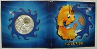 Niue Island Silver 2013 $2.00 Goldfish Lucky Coins Edition Series Original Pack