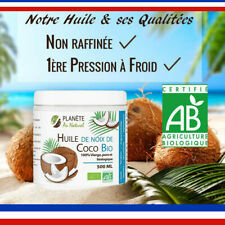 Huile de Noix De Coco Bio 100% Vierge Pure Biologique Naturel 500 ml