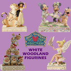 Range Of Disney Traditions White Woodland Jim Shore Figurines Brand New & Boxed