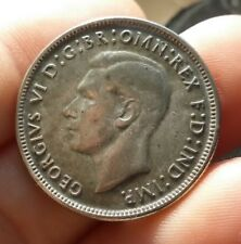 Australia - Florin 1942 toned  KM# 40- 0.925 Silver