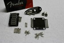 New Fender American Standard Hardtail Chrome Stratocaster Body Hardware Set