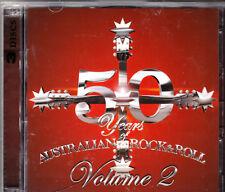50 YEARS: AUSTRALIAN ROCK & ROLL VOLUME 2 (3 CD SET) MINT