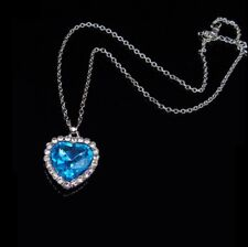 Heart of the Ocean - Titanic Necklace Pendant Replica Cosplay