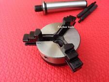 Mandrin ACIER de tour D 50mm 2 Mors inter & exter + Clé  CM2  MT2 tournage CNC