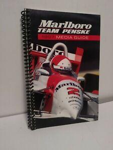 Marlboro Team Penske 1997 Media Guide PPG Cart, Al Unser Jr. M 137
