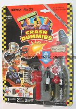 1991 Tyco Crash Test Dummies * Japanese * Piston Head Carded Japan Package