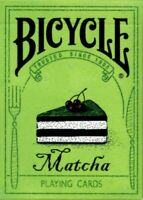 Bicycle Matcha Playing Cards by Bocopo - USPCC - Limited Edition Poker Size Deck