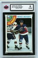 1978-79 Topps #115 Mike Bossy RC Graded 6.0 ENM (*G2020-208)