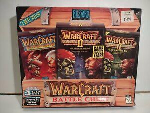 NewSealed  Warcraft  2 Battle Chest  PC Big Box (Blizzard Entertainment 1996)