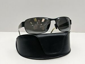 Italy! Maui Jim Black Coral MJ249-2M Polarized Men's Sunglasses 65/16 115/ TO660
