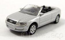 High Speed audi a4 cabrio gris plata 1:87