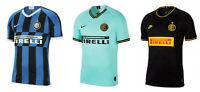 New Inter Milan Jersey S-XXL Milano Shirt 19/20 Football Adult & Kids Italy