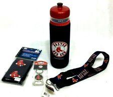 Boston Red Sox Water Bottle Lanyard Keychain Bottleopener Wristbands Gym Workout