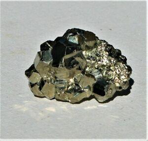 Natural Pyrite Cube Cluster From Peru (P86)