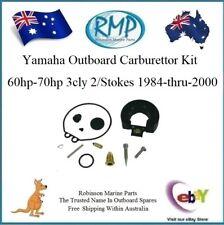1 x New RMP Carburettor Kit Suits Yamaha 60hp-70hp 1984-thru-2000 # R 6H3-W0093