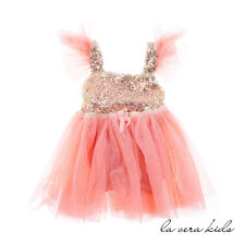 NEW Ava Dress For Baby And Kids - 4-5 Yrs Pink