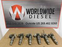 2004-2006 Mercedes OM960 LA Injectors Pump Rollers, Part # A0280748602. Set of 6