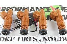 4 - 320cc 30lb BOSCH Fuel injectors Fits 89-90 Nissan 240sx KA24E w/ Turbo