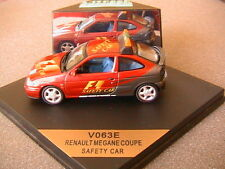RENAULT MEGANE COUPE F1 SAFETY CAR VITESSE V063E 1/43 LIMITED EDITION