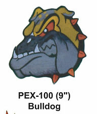 """BULLDOG Embroidered Animal Patch (9"""")"""