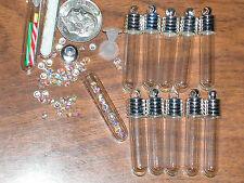 1 wedding favors gift fill locket tube Glass bottles New wine pendants charms *