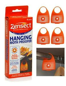 ZENSECT Moth Hanging Proofer Killer Repellent Balls Freshener Fabric Lavender