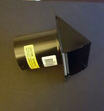 """Nutone Wall Cap in Black for 3"""" and 4"""" Round Duct 885Bl"""