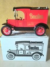 NEW ERTL 1913 MODEL T DELIVERY TRUCK TOY COIN BANK IN BOX BEAULIEU MOTOR MUSEUM