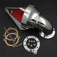 Cone Spike Air Cleaner Filter For Harley Davidson XL Sportster CV S&S EVO custom
