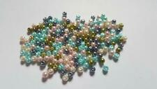 Pastel Glass Pearl Bead Mix - 4mm/6mm/8mm