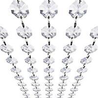 Acrylic Crystal Garland Diamond  Bead chain 5yards